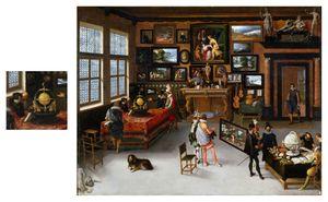 1650 omstreeks Adriaen van Stalbemt (Amberes, 1580 – 1662) Las Ciencias y las Artes.jpg