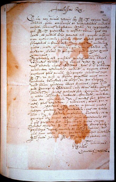 1621 Brief King James kleur 1.jpg