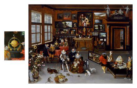 1621-23 Brueghel Jan the Elder and Hieronymus Francken The Archdukes-1621-23 Albert and Isabella.jpg