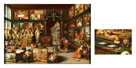 1630 Willem van HaechtThe Gallery of a Picture Collector (1630) b.jpg